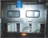 ミスト加工の機械 (糊抜加工、波動水加工等)